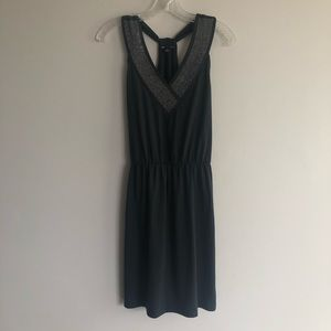 Gap Dress with Metallic studs along V-neck size M